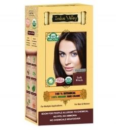 Akce spotřeba: 08/2021 100% Rostlinná, 100% Organická barva na vlasy Jemná Černá