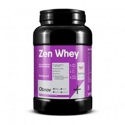 Zen Whey 70% 2000 g/67 dávek - sladidlo stévie jahoda-malina
