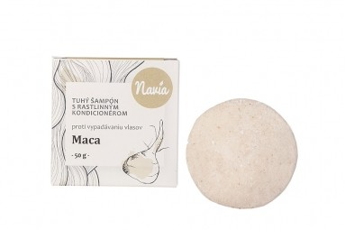Tuhý Šampon s Kondicionérem - Maca XXL (proti vypadávání vlasů)