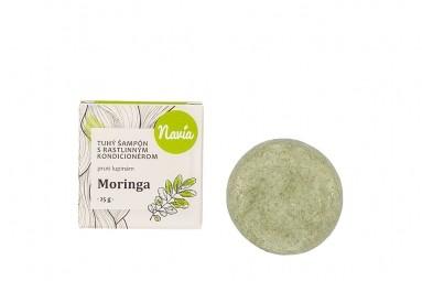 Tuhý šampon s Kondicionérem - Moringa (proti LUPŮM)