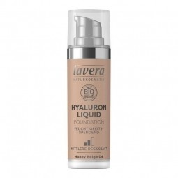 Lehký tekutý make-up s kyselinou hyaluronovou - 04 Béžová 30 ml