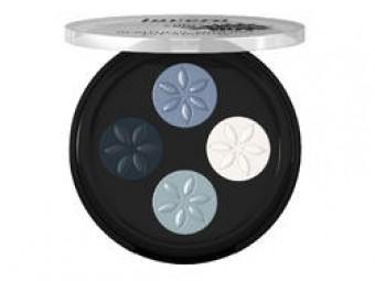 lavera Minerál. oční stíny Quattro 7 modrá platina