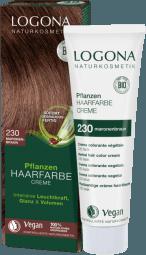 Krémová barva na vlasy kaštanová