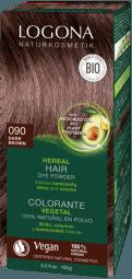 Prášková barva na vlasy Dark brown - 100g