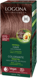 Logona barva na vlasy kaštanová - 100g