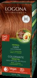 Logona prášková barva na vlasy ohnivě červené - 100g