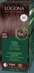 Prášková barva na vlasy Red brown - 100g