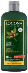 ŠAMPON SHINE S BIO Arganový olej - NA KŘEHKÉ A POŠKOZENÉ VLASY