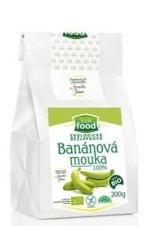 Mouka banánová bezlepková 100% 200 g BIO