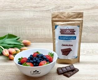 Fitness ovesná kaše Love s chia semínky - Čokoládová 250 g