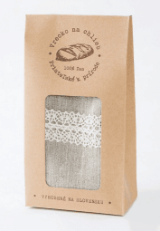 Manufolktúra Kapsa na chléb s krajkou 45x24 cm