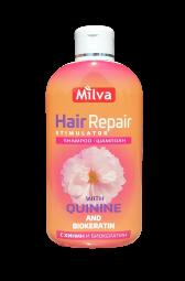 Šampon Hair repair s chininem 200ml Milva