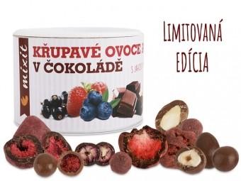 Křupavé ovoce a ořechy v čokoládě