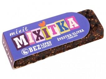 Mixitka BEZ LEPKU - švestka + čokoláda