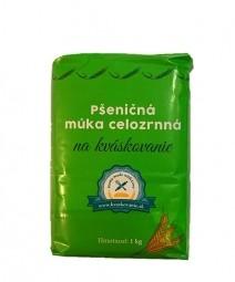 Akce spotřeba 02.09.2021 Pšeničná mouka celozrnná na kváskovanie 1 kg