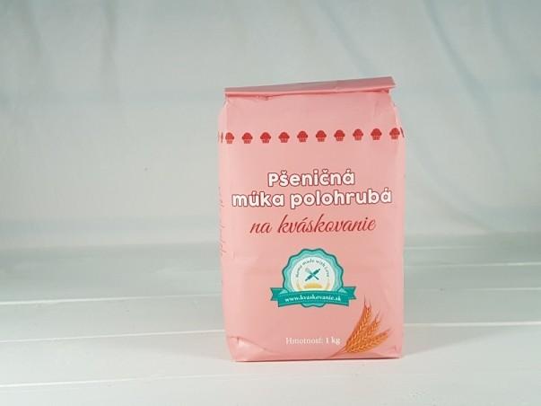 Pšeničná mouka polohrubá na kváskovaní 1 kg