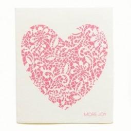 More Joy Červené srdce - utěrka