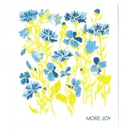More Joy Modré kvety- utěrka