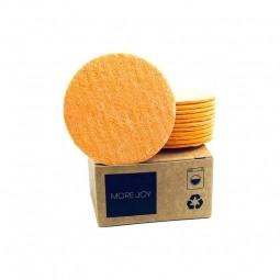More Joy More Joy kosmetický tampon 12ks oranžový