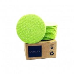 More Joy More Joy kosmetický tampon 12ks zelený