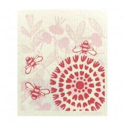 More Joy Růžový květ - utěrka