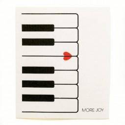 More Joy Piano - utěrka
