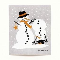More Joy Sněhuláci - utěrka