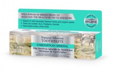 Přírodní sibiřská zubní pasta - Kamčatský minerál