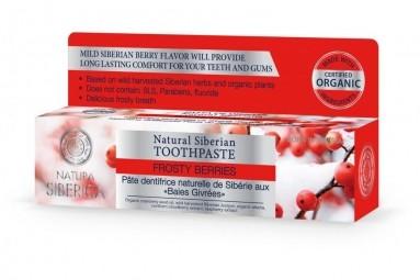 Přírodní sibiřská zubní pasta - Zmrzlé bobule