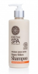 Přírodní medový šampon pro obnovu zničených vlasů BANIA DETOX