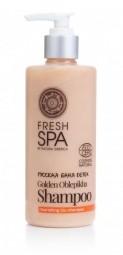 Přírodní výživný šampon Zlatý rakytník BANIA DETOX