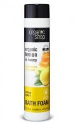 Organic Shop - Citron a Med - Vyhlazující pěna do koupele
