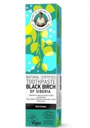 RBA Přírodní certifikovaná zubní pasta - Černá sibiřská bříza - Bělicí