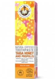 RBA Přírodní certifikovaná zubní pasta - Med z tajga a Propolis - Zdravé dásně