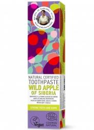 RBA Přírodní certifikovaná zubní pasta - Divoké sibiřské jablko - Silné zuby a dásně