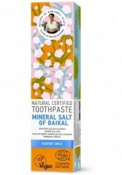RBA Přírodní certifikovaná zubní pasta - Bajkalská minerální sůl -Žiarivý úsměv