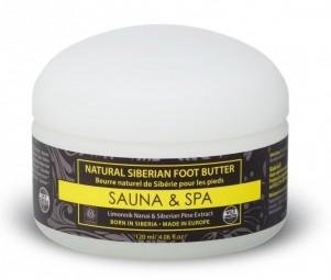 Přírodní sibiřské máslo na nohy