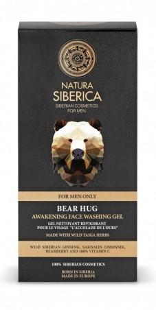 Povzbuzující čistící pleťový gel Objetí medvěda