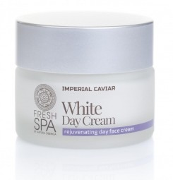Bílý omlazující pleťový denní krém na obličej Imperial Caviar