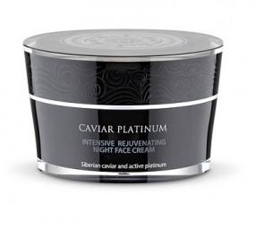 Caviar Platinum - Intenzivní noční omlazující krém na obličej 50ml