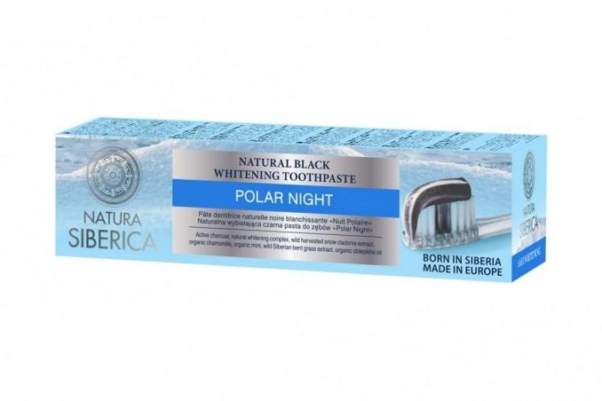 Přírodní sibiřská bělící zubní pasta Černá noc 100g