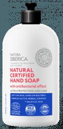 Přírodní certifikované mýdlo na ruce s antibakteriálním účinkem