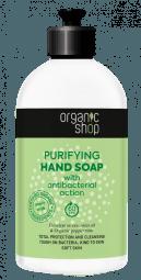 Čisticí mýdlo na ruce s antibakteriálním účinkem