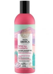 Taiga siberica - přírodní sprchový gel - Divoká ledová brusinka - Omlazující bobule