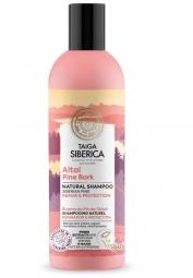 Taiga siberica - přírodní šampon - Altajská kůra borovice - Obnova a ochrana