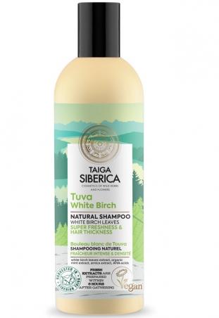 Taiga siberica - přírodní šampon - Tuva bílá bříza - super svěžest a hustota vlasů