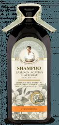 Posilující šampon na bázi černého mýdla Agafja - pro všechny typy vlasů
