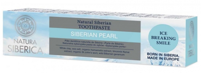 Přírodní sibiřská zubní pasta - sibiřská perla