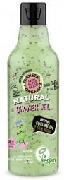 Planeta Organica - přírodní sprchový gel - okurka a bazalkové semínka