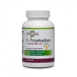 L-Tryptophan + B3 + B6 - 225 mg - 60 kapslí